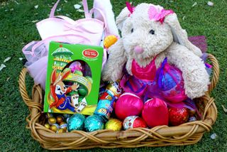 Easter Egg Hunt stash