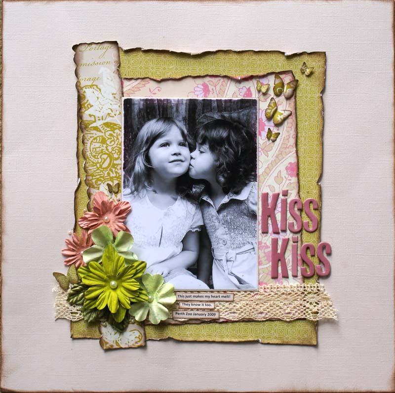 Sketch Kiss Kiss