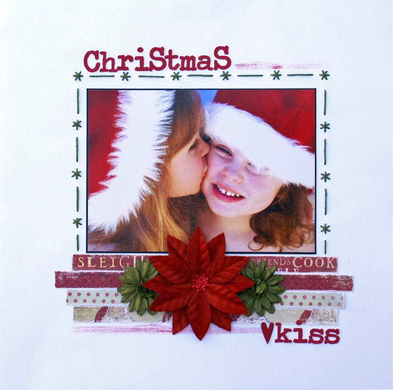 SFTH Blind Scrap Christmas Kiss