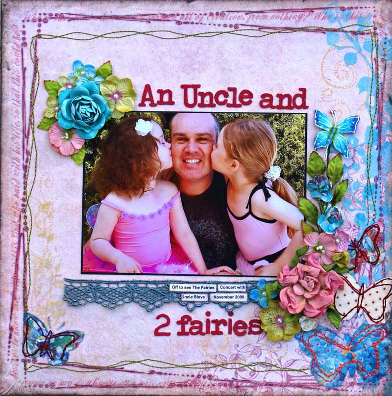 An uncle and 2 fairies