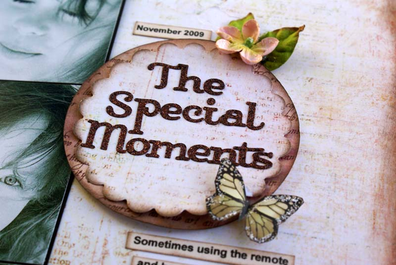 The special moments close up