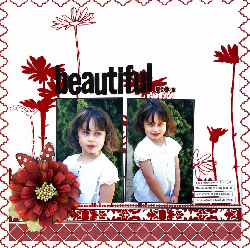 Beautiful MME challenge ATC