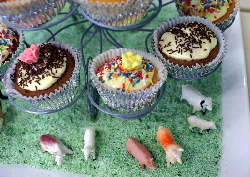 Cake farmyard style