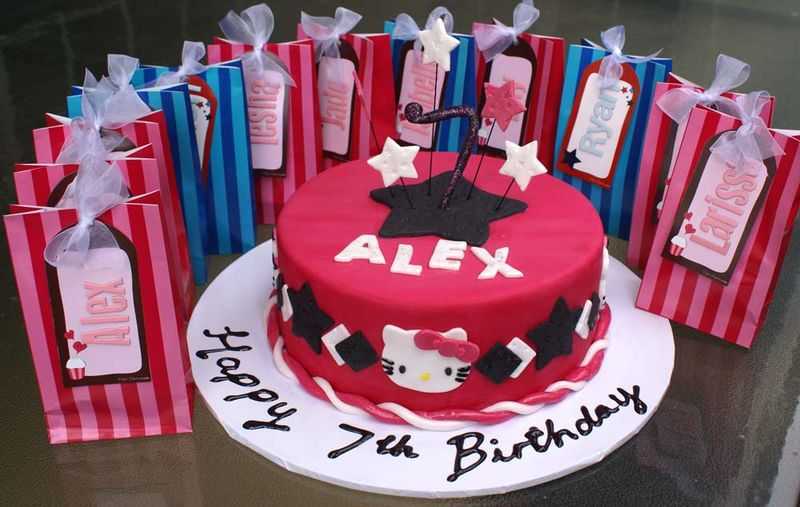 Alex's birthday