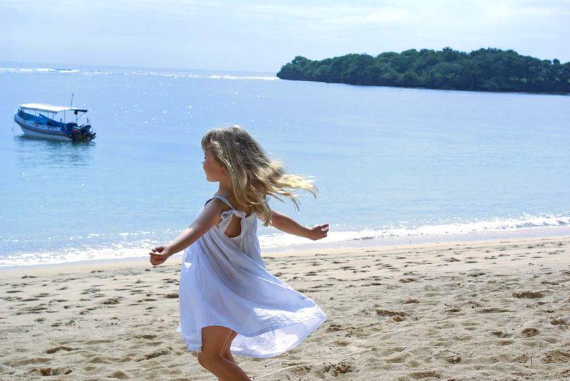 Alex on the beach