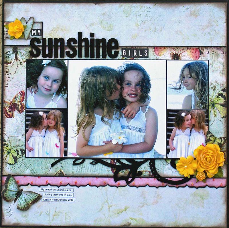 My Sunshine girls