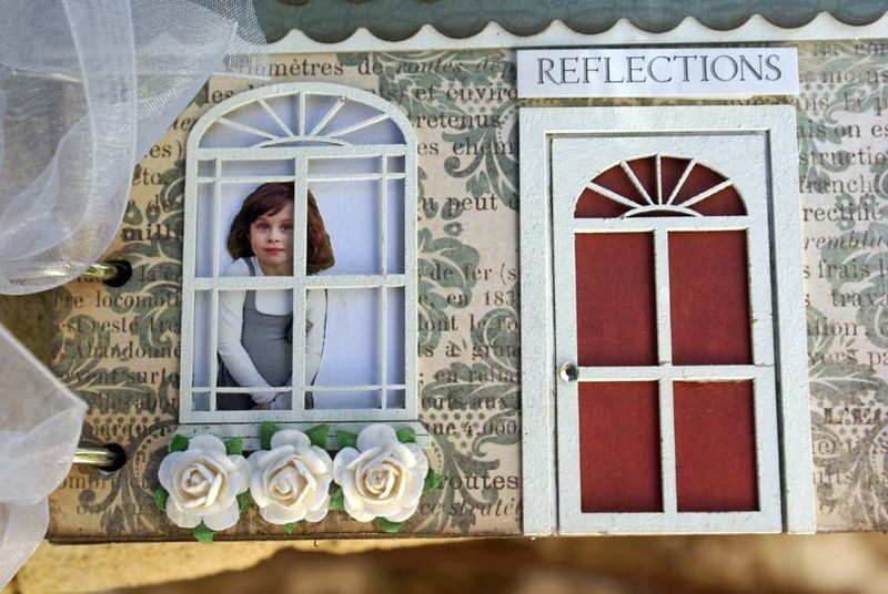 House album cover close up