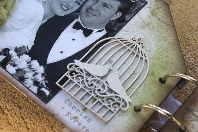 House album close up