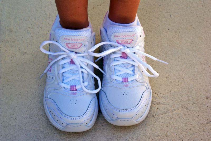Alex new shoes