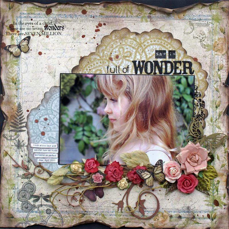 Full of wonder