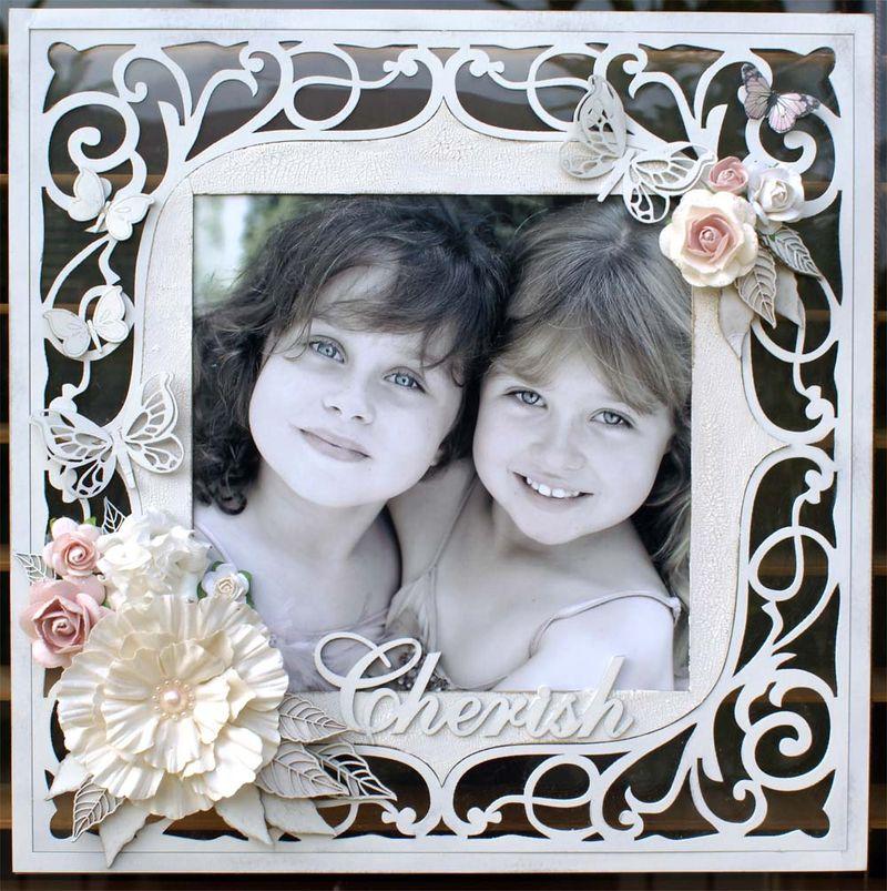 Cherish ornate frame