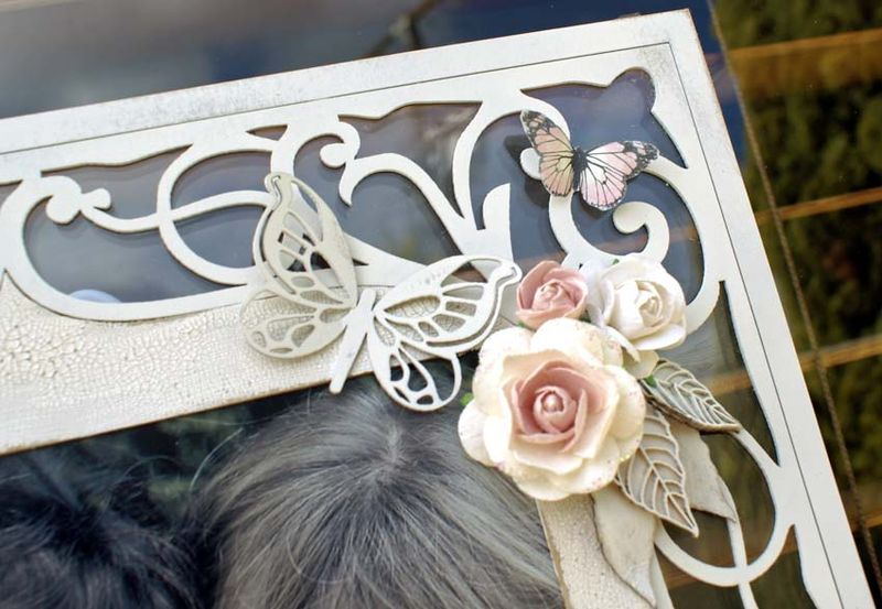 Cherish frame close up
