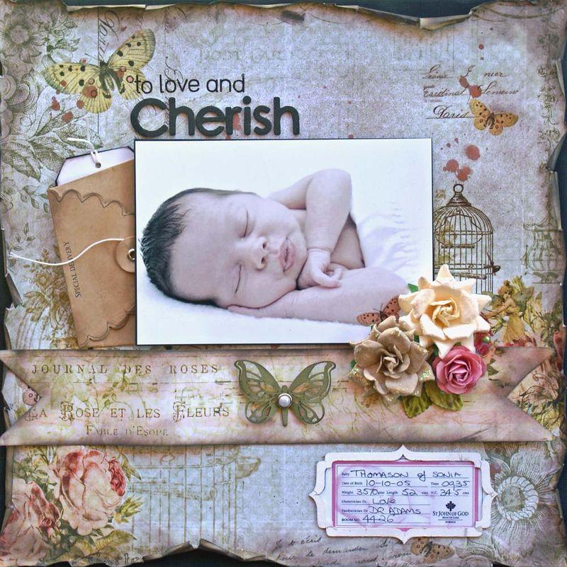 To love and cherish adv