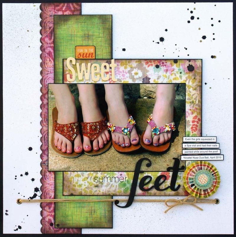 Sweet Summer Feet