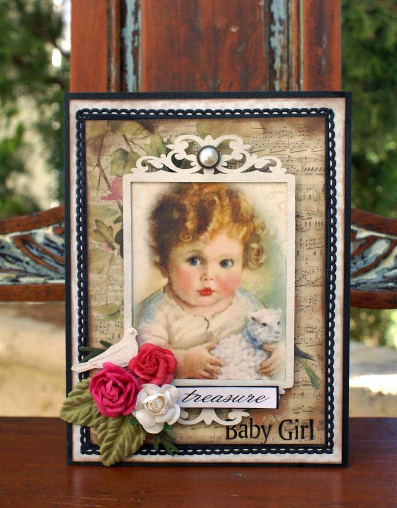 Baby Girl card