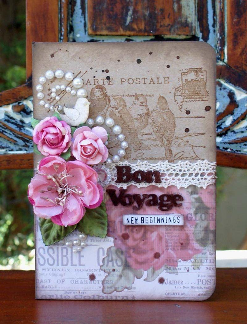 Bon Vogage card