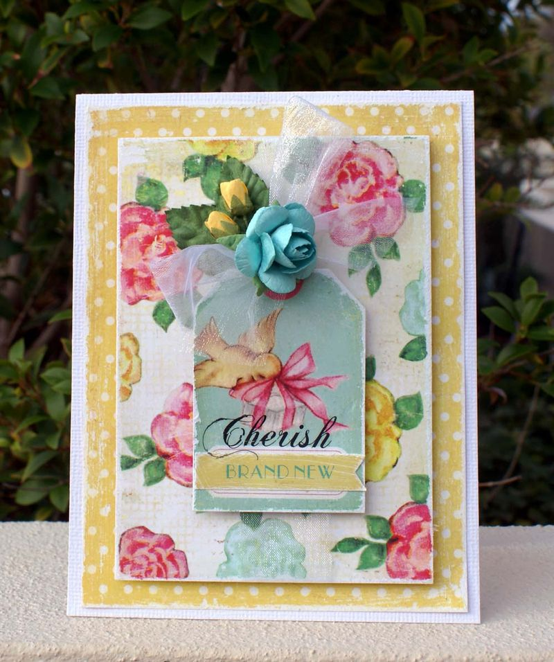 Crate Paper Cherish card