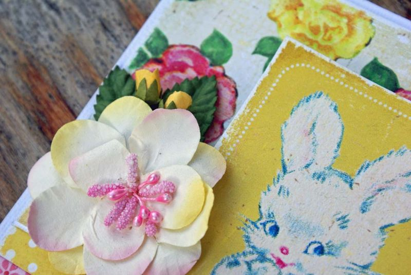 Crate Paper close up bunny card