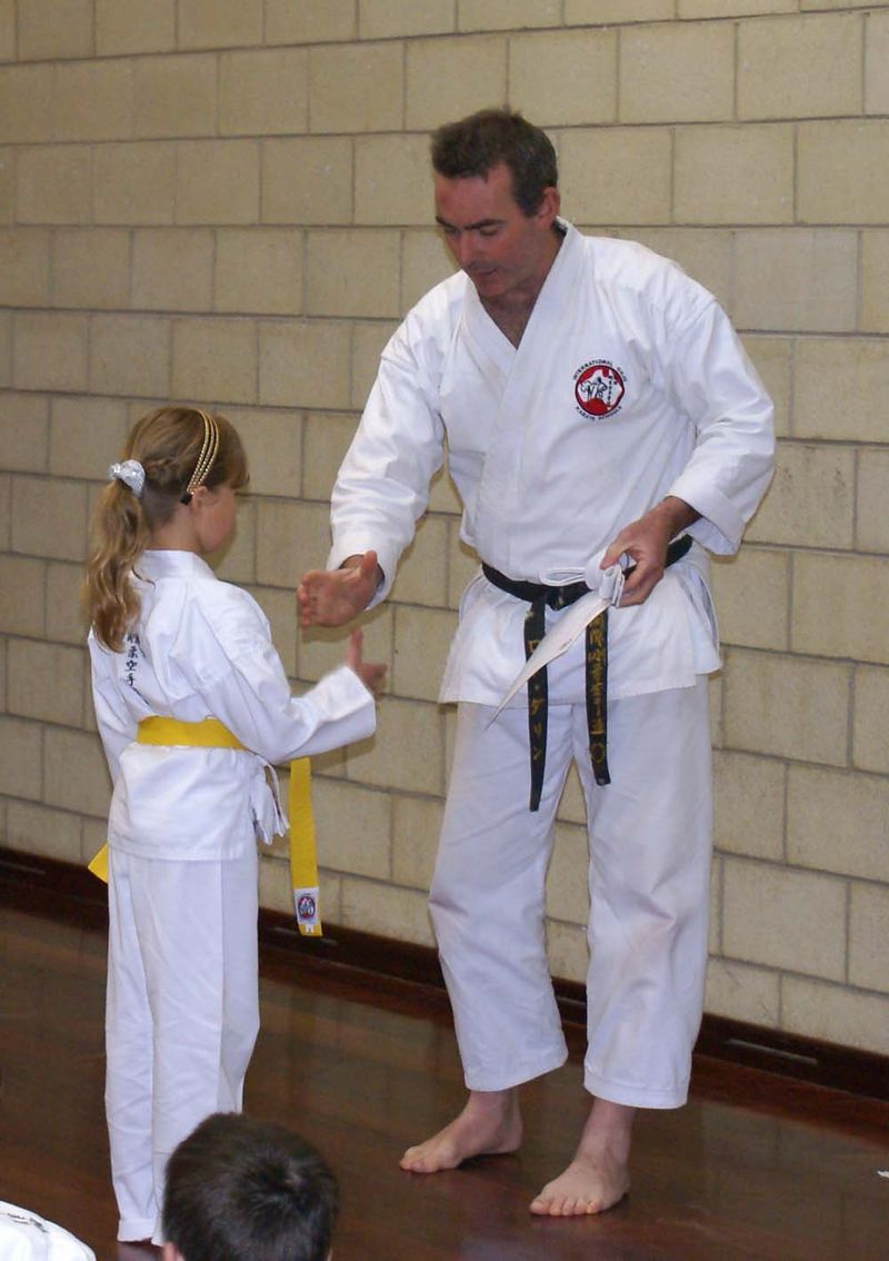 Karate Alex Yellow