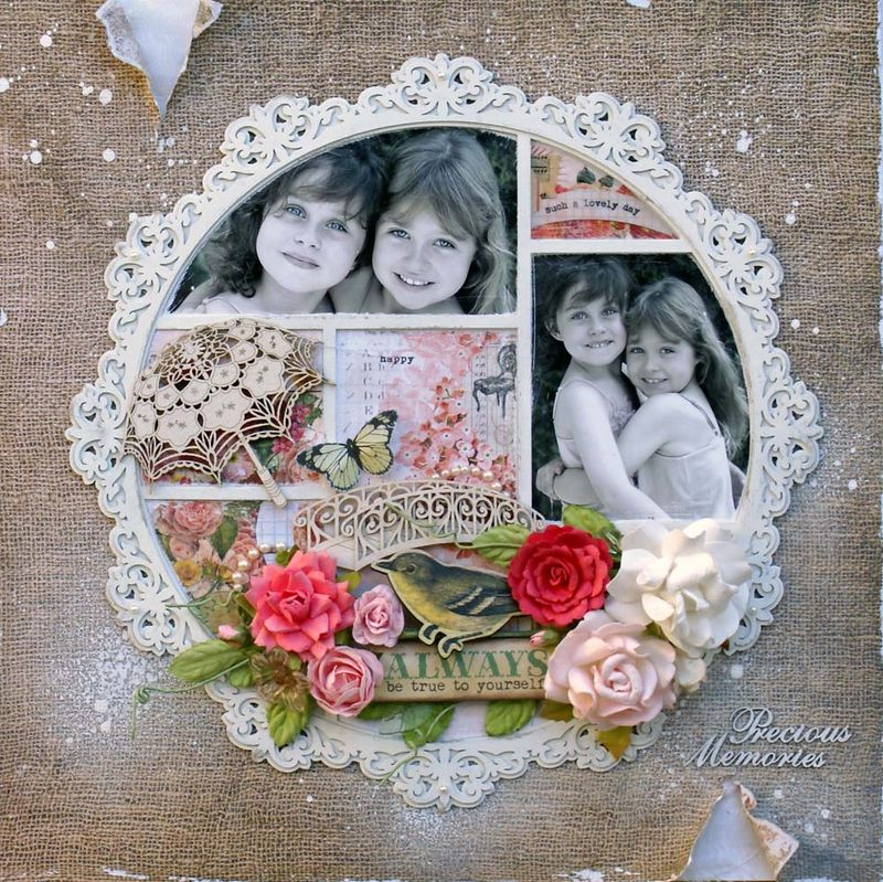 Precious Memories Layered Frame
