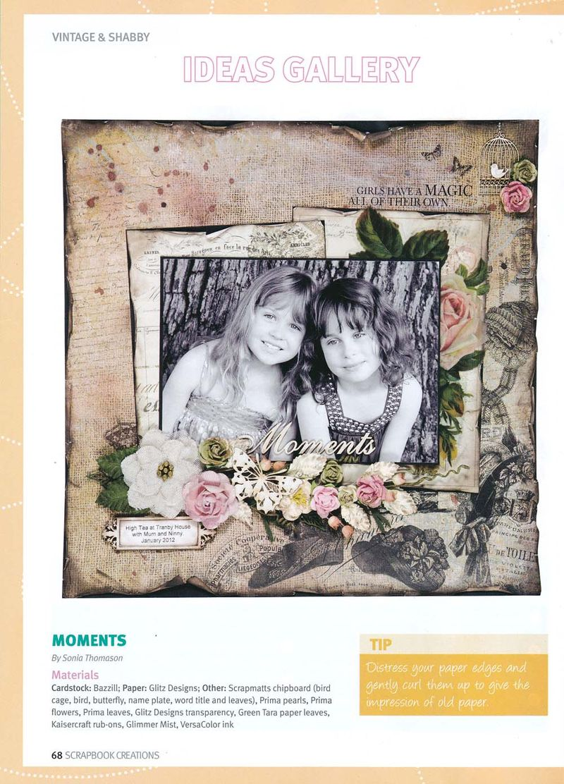 Moments Scrapbook Creations