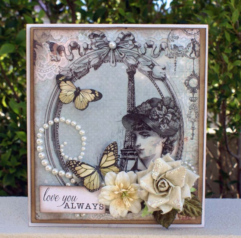 Love you always card FWAB