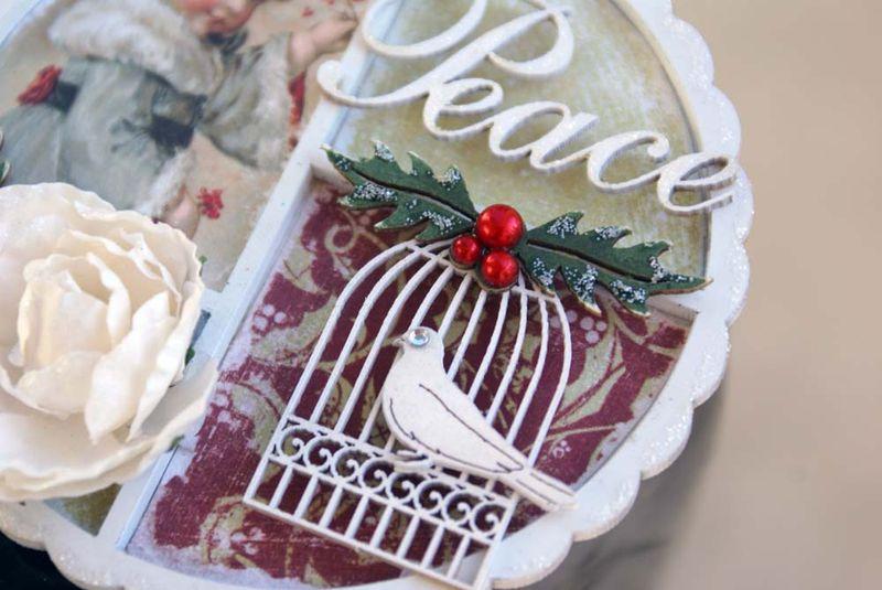 Scrapmatts Christmas ornament