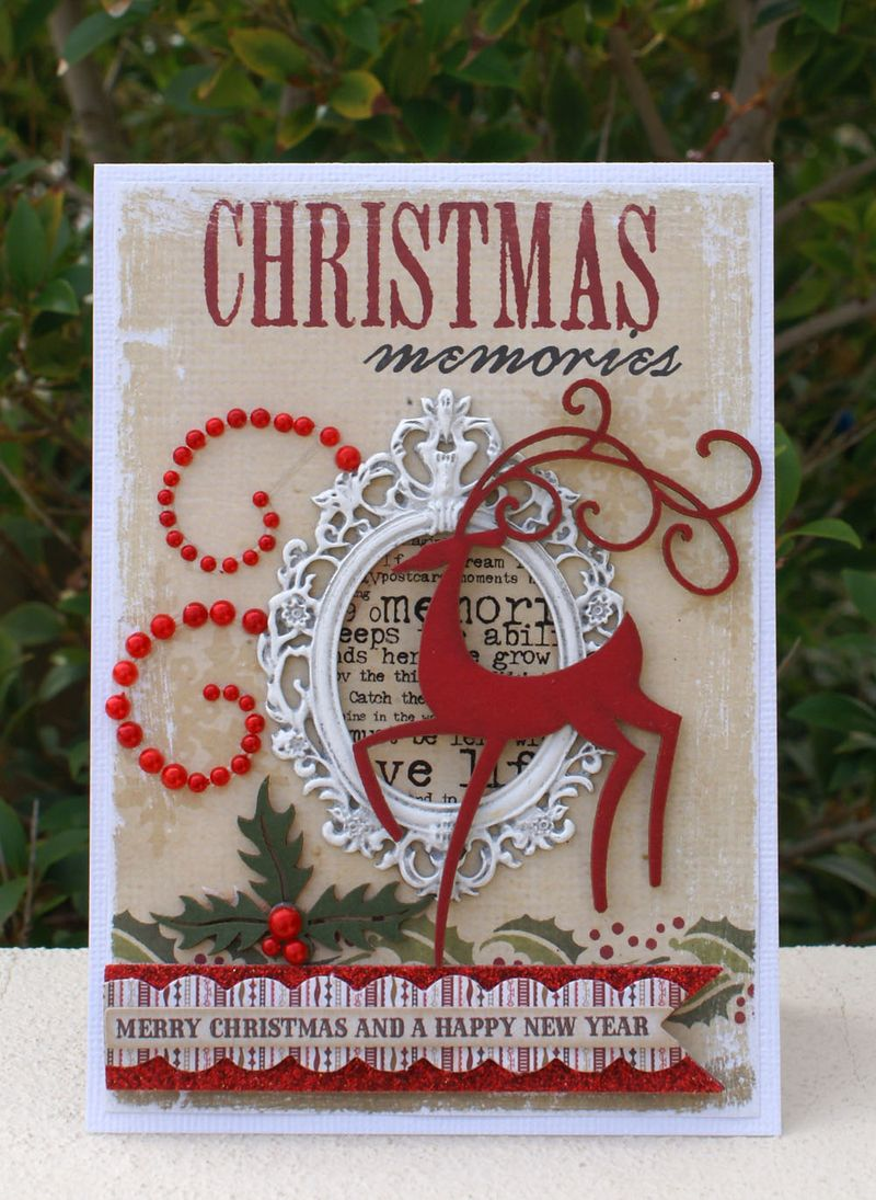 Christmas Memories card