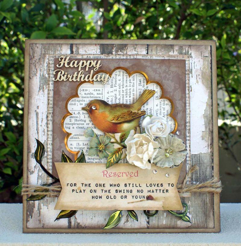Happy birthday card FWAB