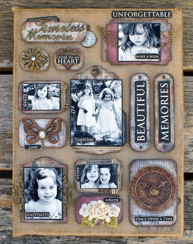 Scrapmatts canvas Beautiful Moments