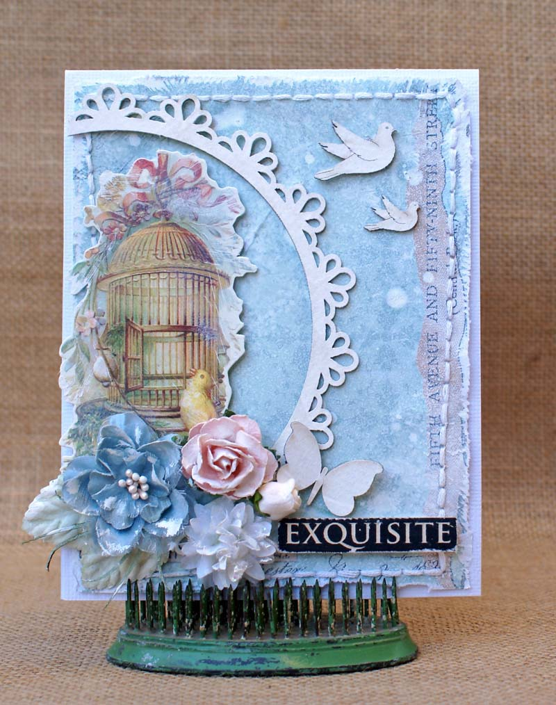 Exquisite card