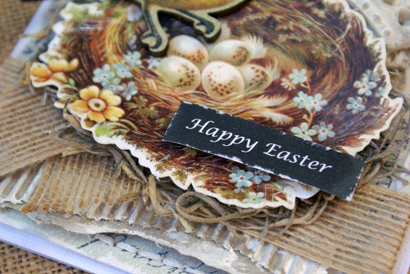 Happy Easter card close up 1