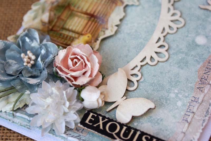 Exquisite card close up 1