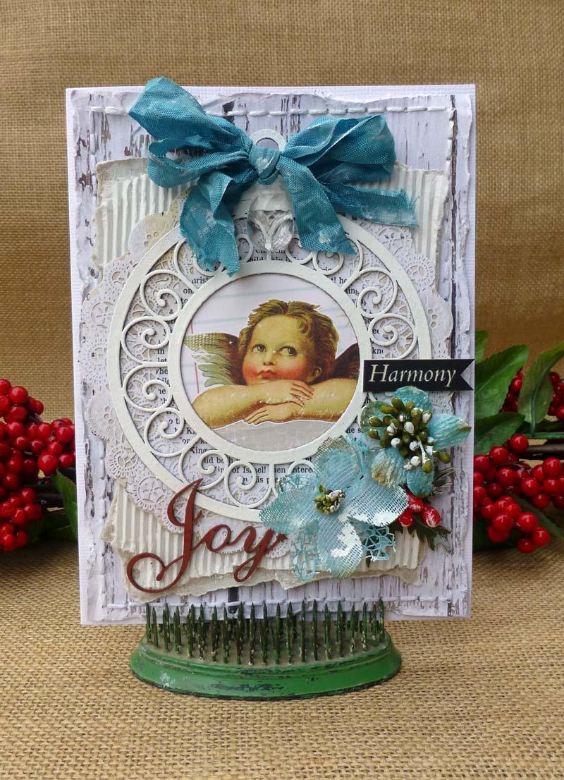 Christmas cards Joy