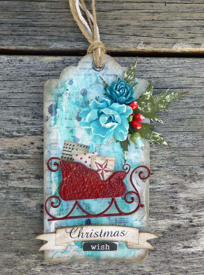 Christmas Wish tag