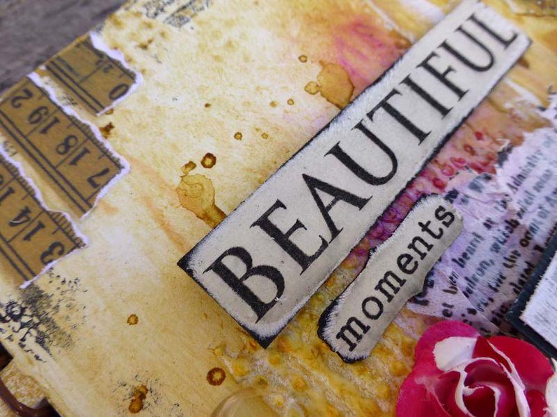 Journal Beautiful Moments close up 3