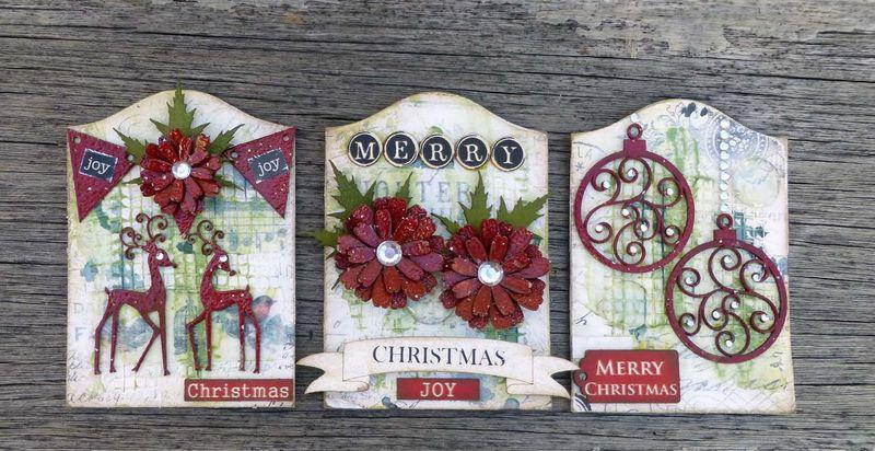 Christmas ATCs