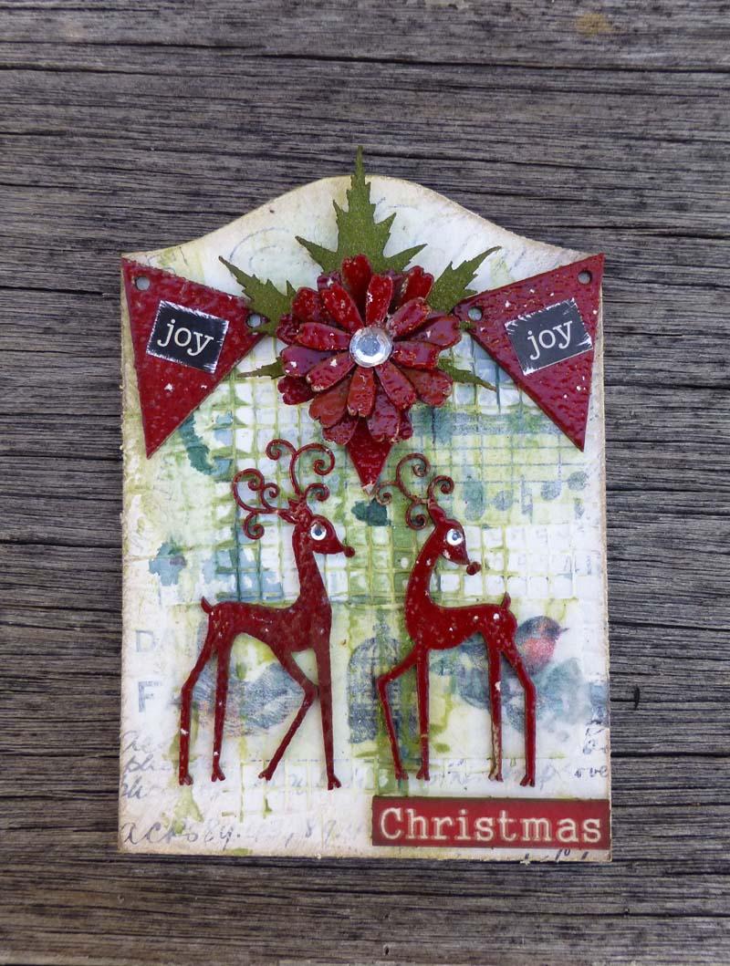 Christmas ATC Joy
