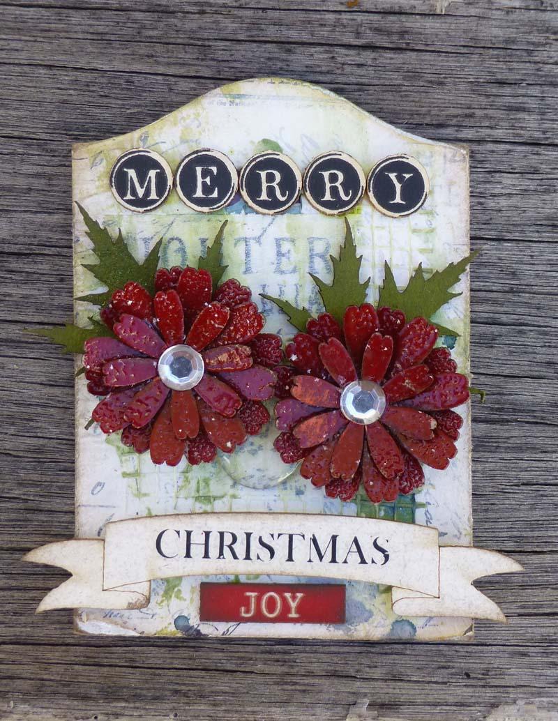 Christmas ATC Merry