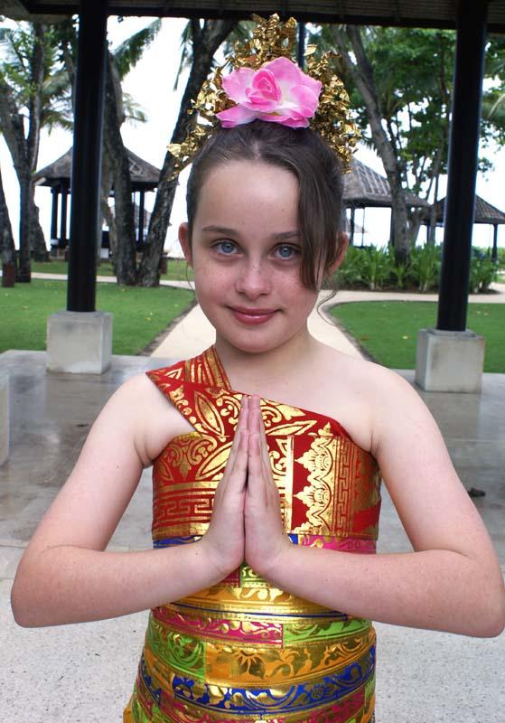 Balinese dress Isabella