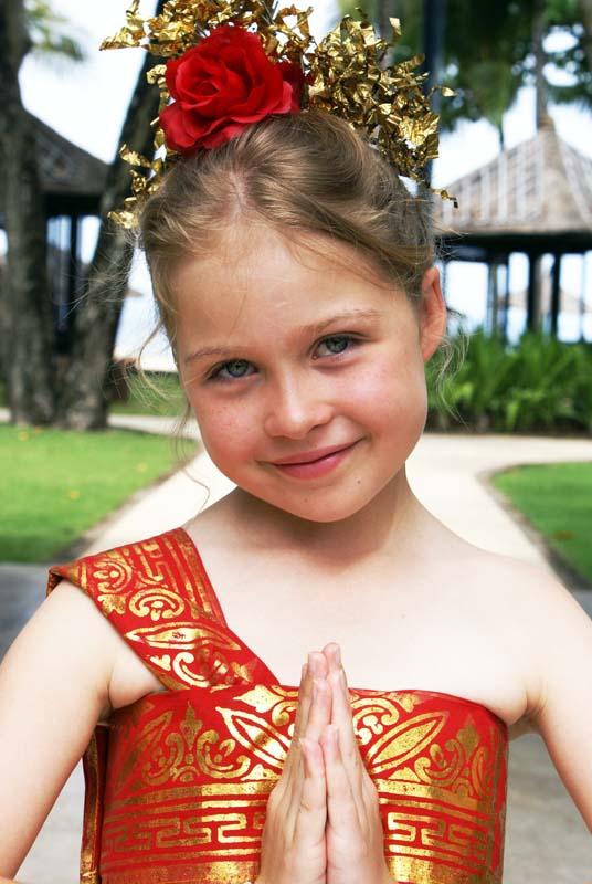 Balinese dress Alex