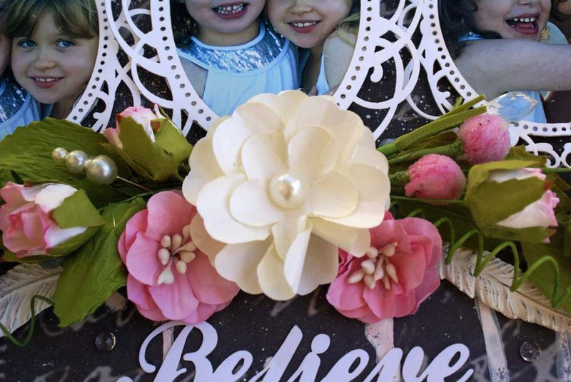 Believe in Ooh La La flowers MHC