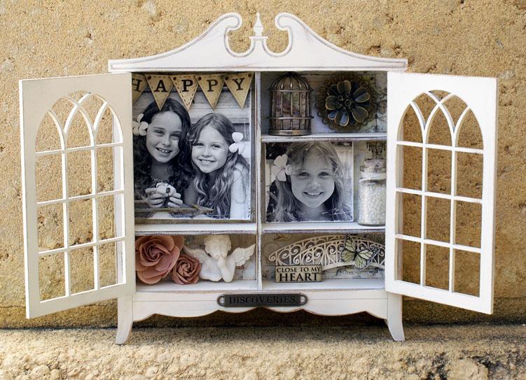 Memory Cabinet open