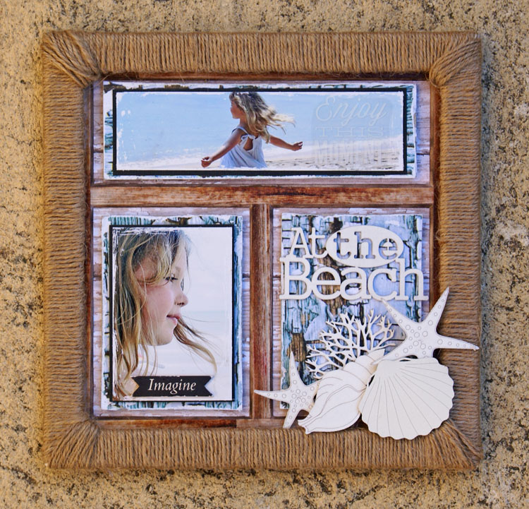 Art Frames At the Beach