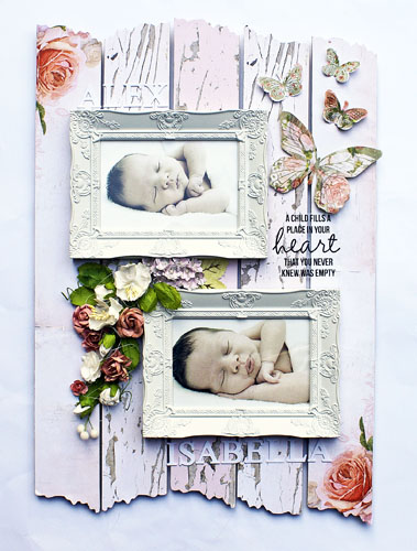 Country Rose Wall Art baby photos