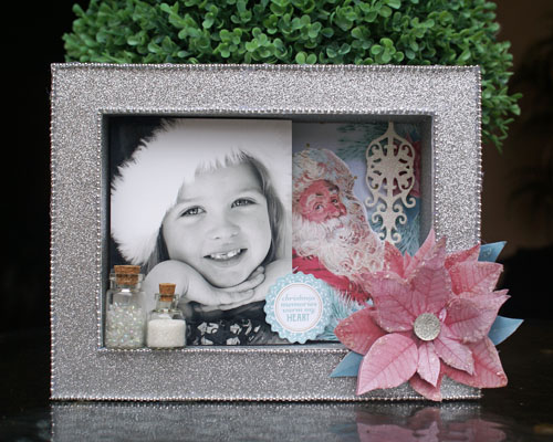 Christmas Wushes shadow box