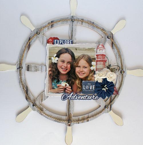 Sail Away captains Wheel