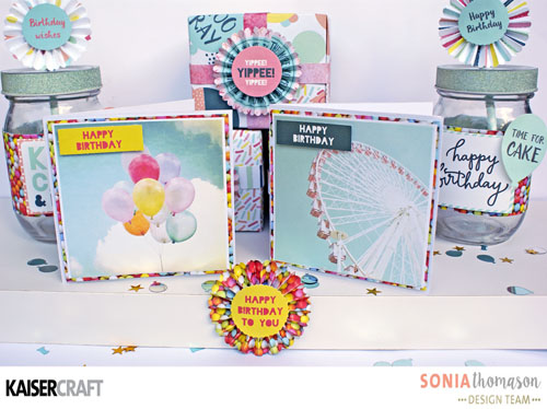 Party Time Party Styling Cards