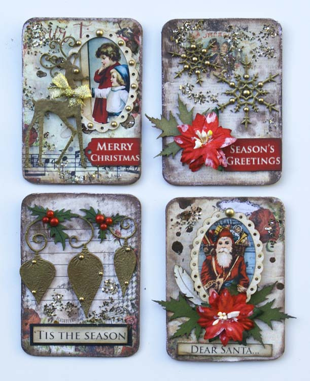 Scrapmatts Christmas ATC