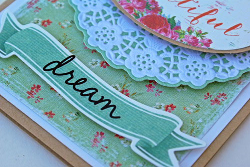 Hello Beautiful card close up A